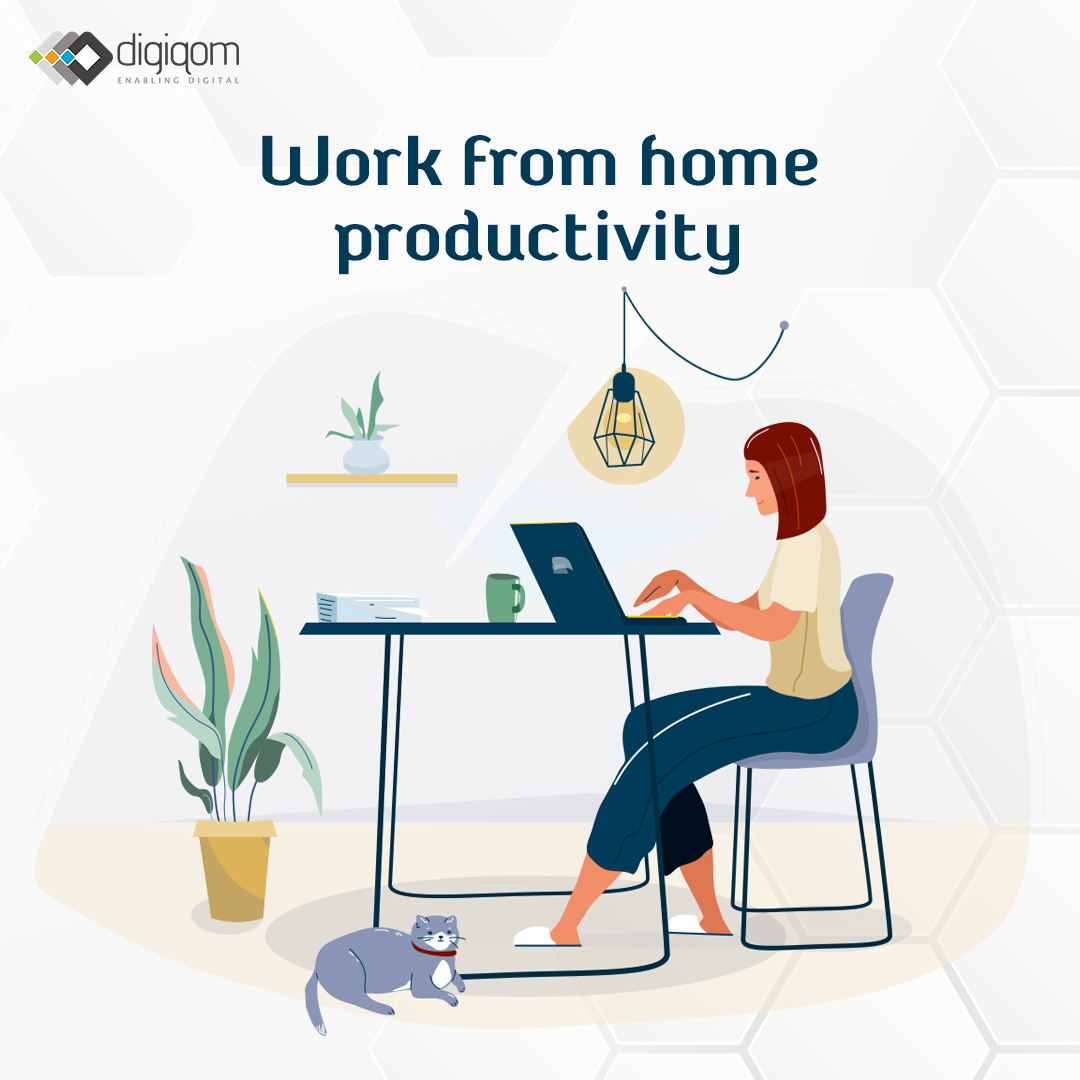 Work from home productively. Here's how